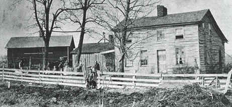 Gen. George Armstrong Custer Family Homestead Tontogony Ohio