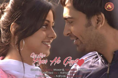 Official Poster Of Punjabi Movie Oye Hoye Pyar Ho Gaya