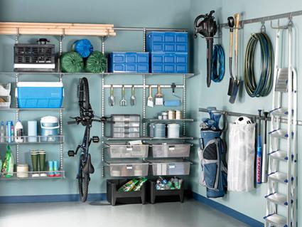 Ordenar el garaje y aprovechar el espacio ideas para - Estanterias para garaje ...