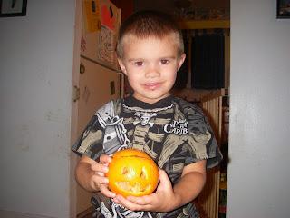 Halloween Orange Snacks