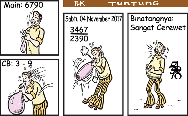 Prediksi Gambar Pak Tuntung Sabtu 04 11 2017