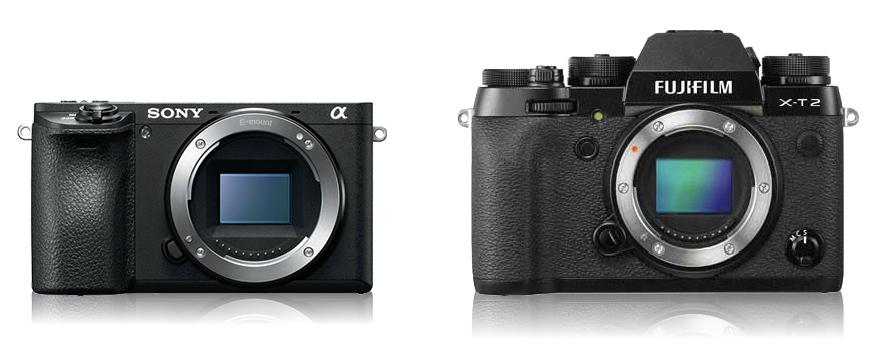 Sony A6500 и Fujifilm X-T2