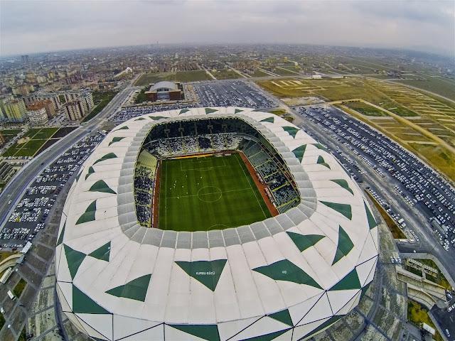Türkiye'nin En Büyük Futbol Stadyumu - Torku Arena - Kurgu Gücü