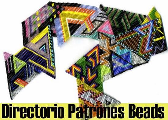 patrones beads, patrones mostacillas, loom work paterns