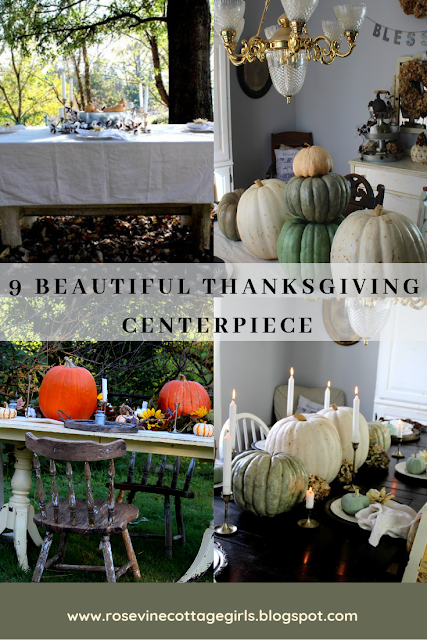 Thanksgiving table | 9 Beautiful thanksgiving table decor ideas for your holiday celebrations #rosevinecottagegirls