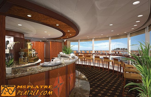 Moderne décor de Restaurant