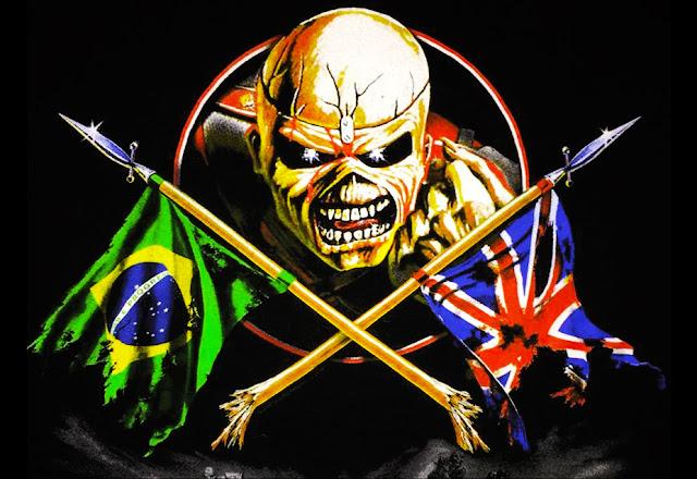 Somewhere in Brazil: Iron Maiden ganhará tributo com bandas brasileiras
