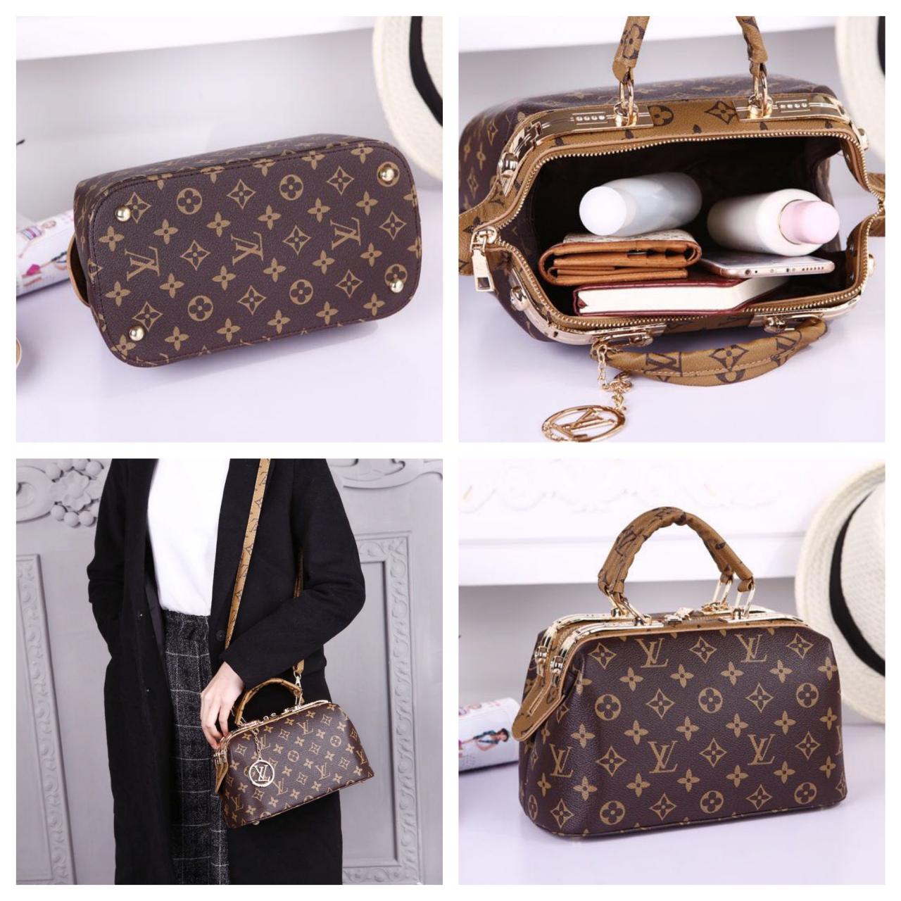 Tas Import Doctor Bag Dv2117lv Set 2 In 1 Semi Premium Selempang Wanita Manggo Bags Toko Online