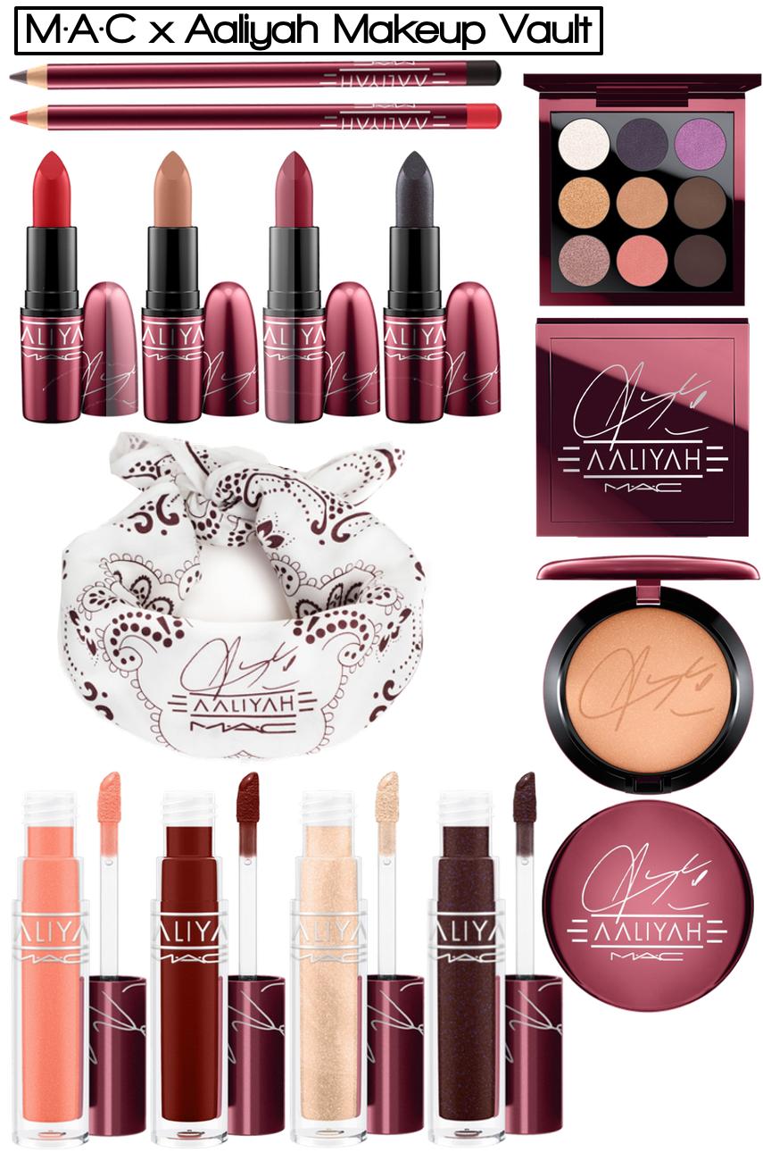 M·A·C x Aaliyah Collector's Makeup Vault