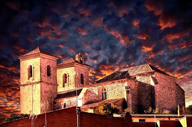 Cielo en Iglesia de Campo Real