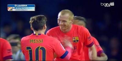 LFP-Week-29 : Celta Vigo 0 vs 1 Barcelona 05-04-2015
