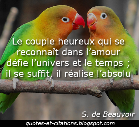 citation le couple heureux