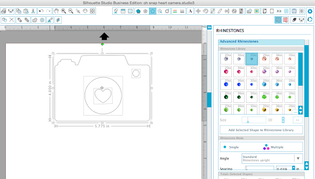 silhouette studio rhinestone templates rhinestone mock ups silhouette cameo tutorials help