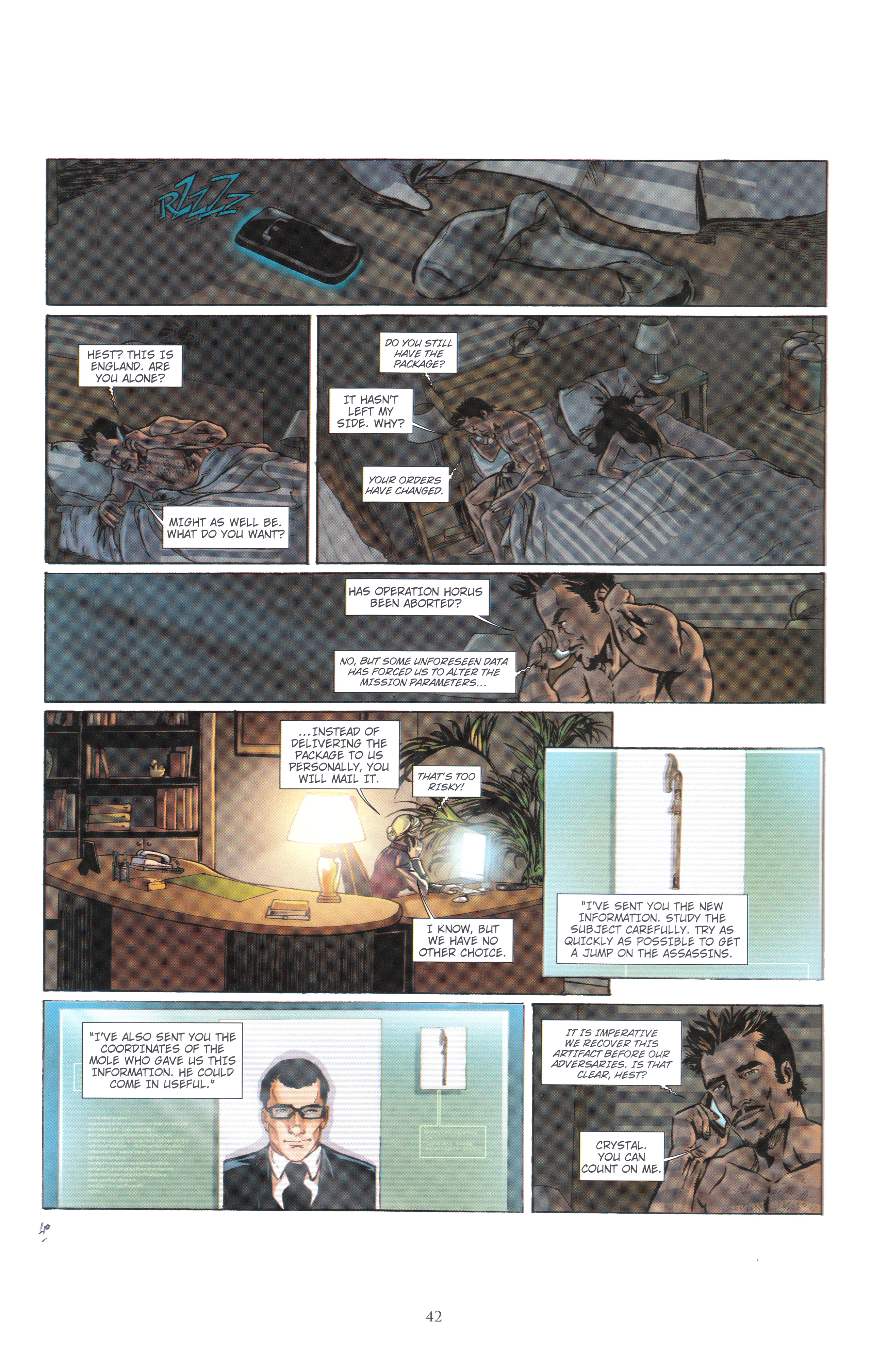 Read online Assassin's Creed (2012) comic -  Issue #4 - 42