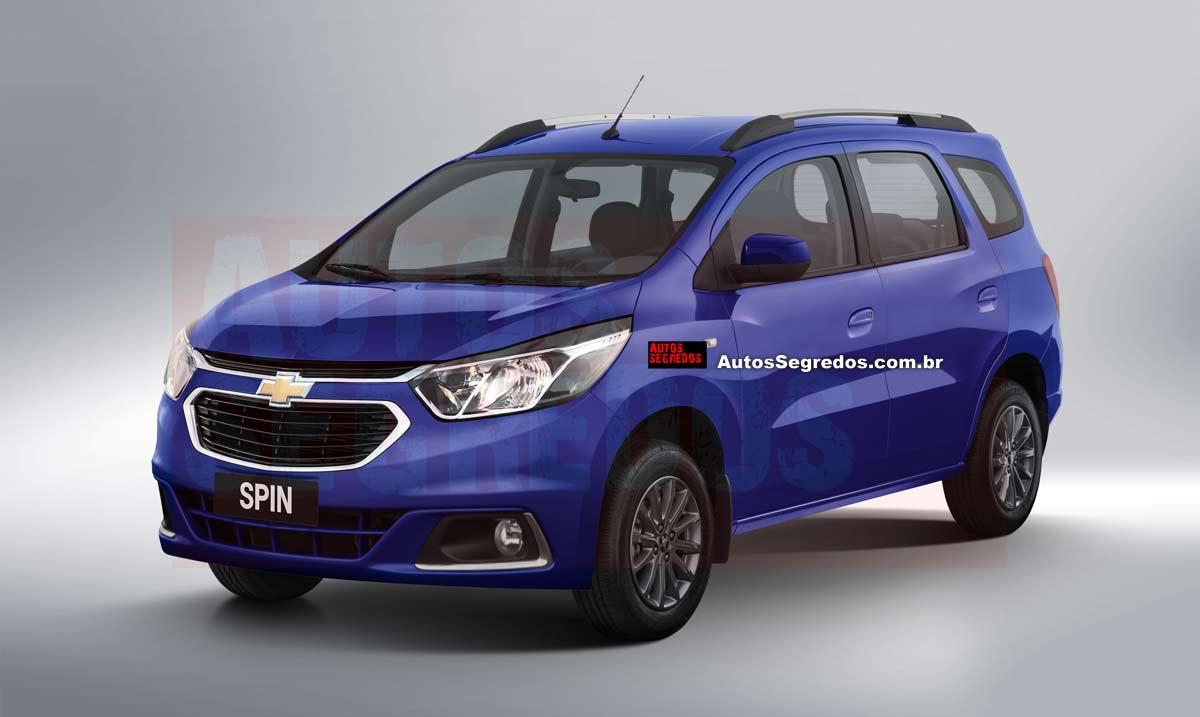 Chevrolet Spin facelift (render) - MS+ BLOG
