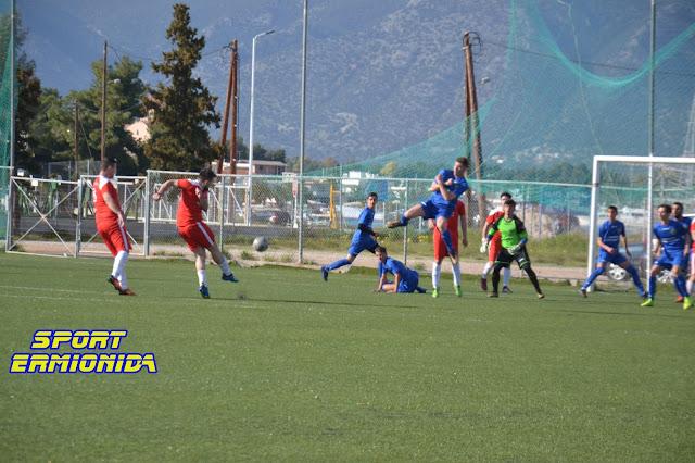 Ο Ατρόμητος Κρανιδίου επιβλήθηκε με 2-0 του Αστερίωνα Ινάχου