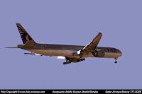 Boeing 777 / A7-BAZ