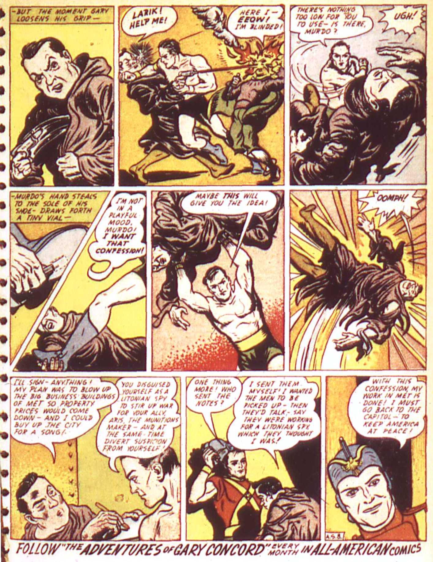 Read online All-American Comics (1939) comic -  Issue #17 - 35