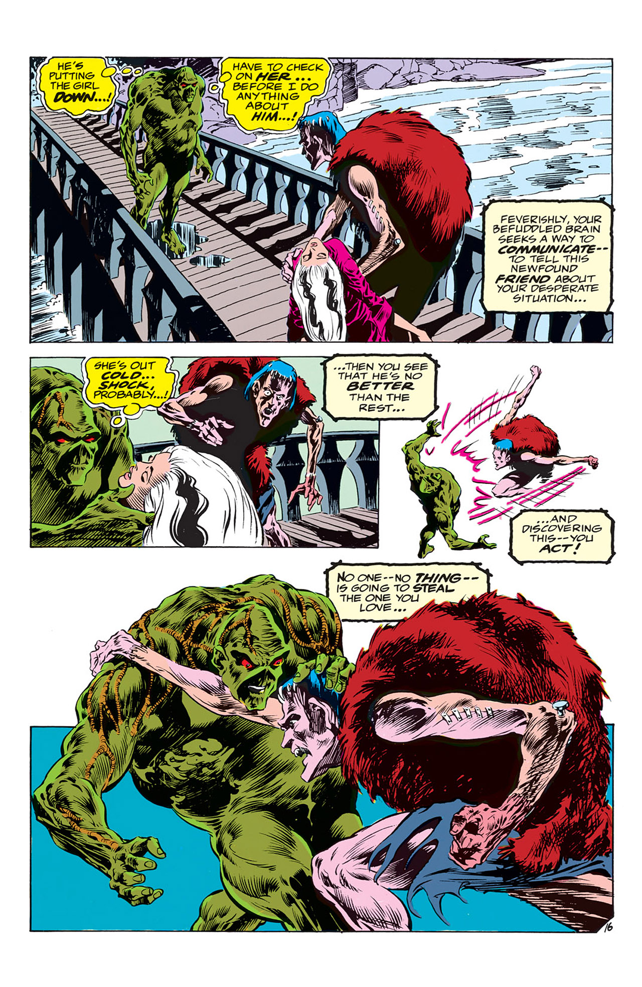 Swamp Thing (1972) Issue #3 #3 - English 17