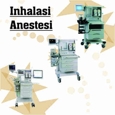 Jual Mesin Inhalasi Anestesi