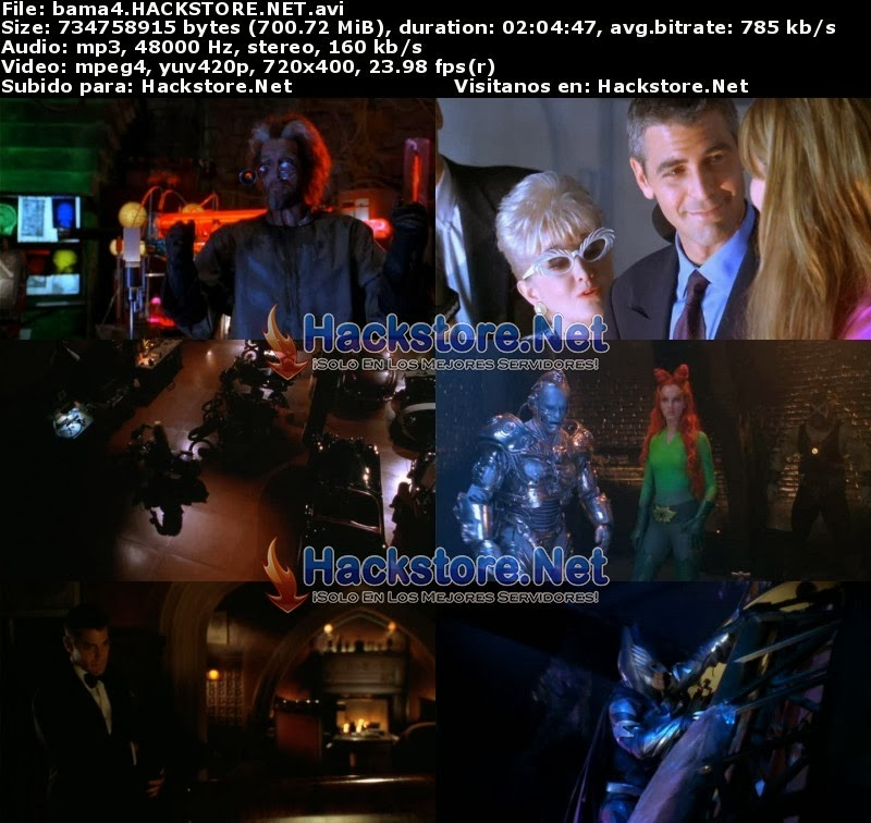 Captura Batman 4 & Robin (1997) Dvdrip Latino