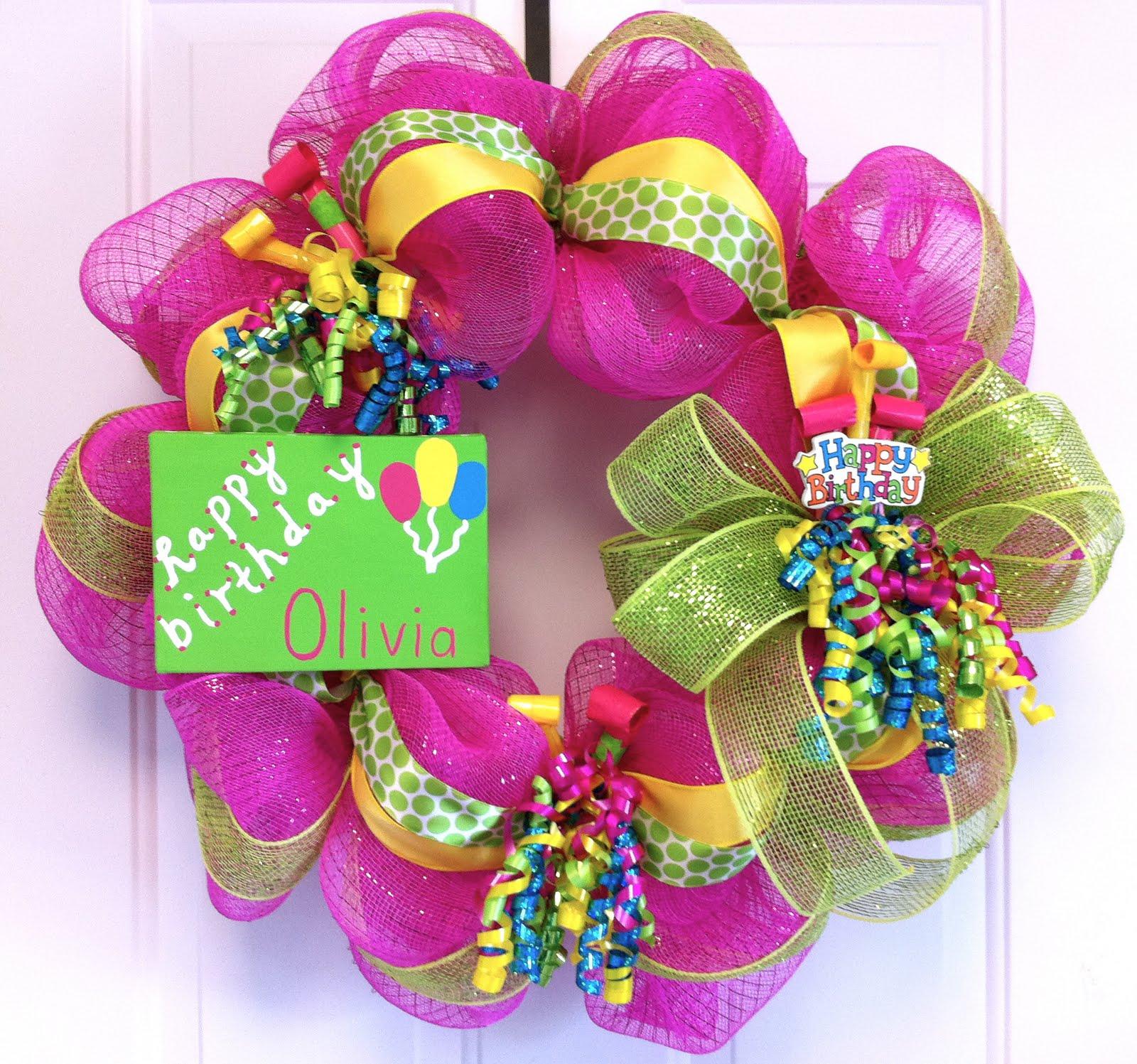 Dazzling Designs By Brittany Happy Birthday Olivia