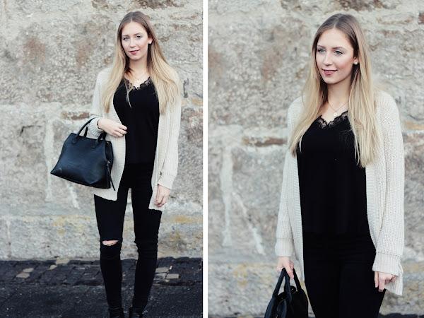 Winter Lookbook: 3 Simple Black Denim Looks