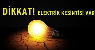 Tatvan'da Elektrik Kesintisi - Bitlis Tatvan Haber