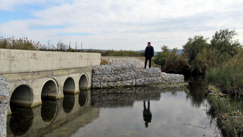Ολοκληρώθηκε το έργο αποκατάστασης αναχωμάτων στην περιοχή των Φερών