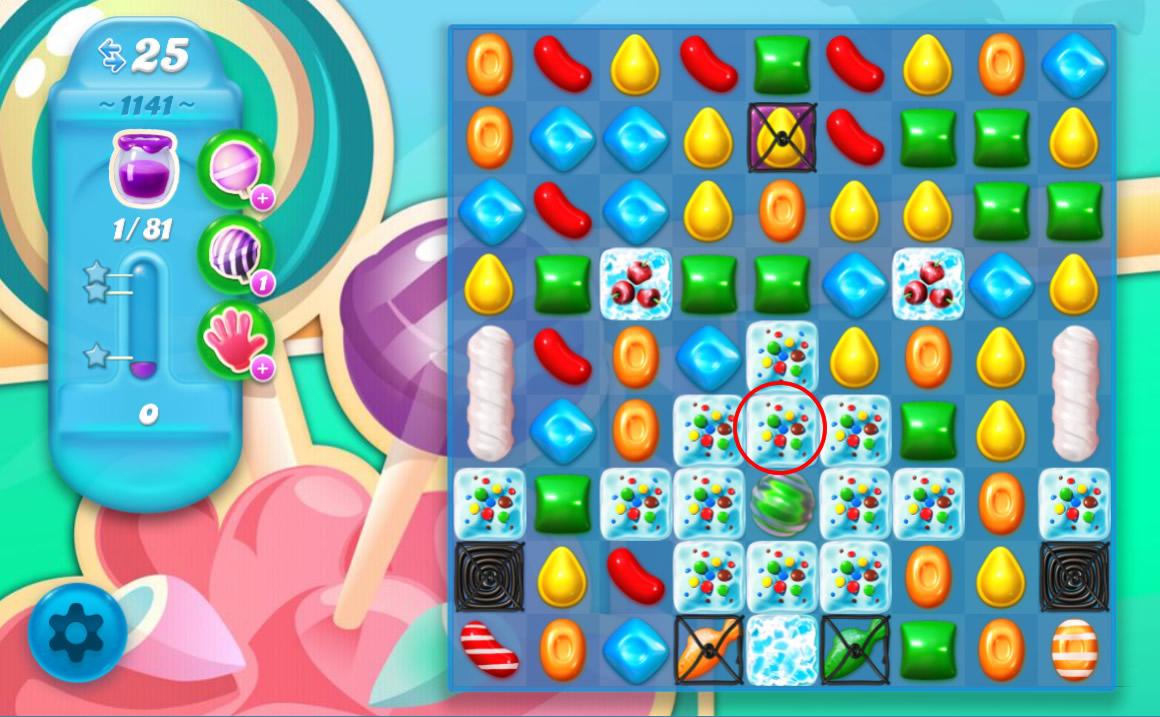 Candy Crush Soda Saga level 1141