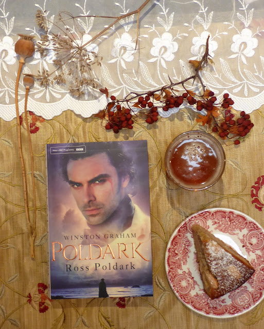 Ross Poldark, almond cake