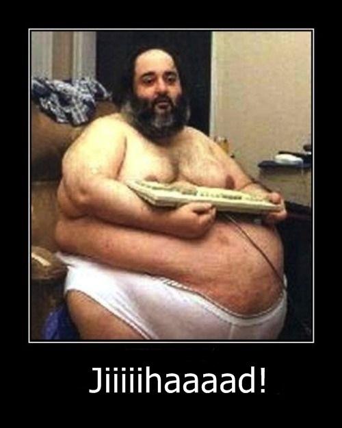 Fat Guy Stuck Internet 83
