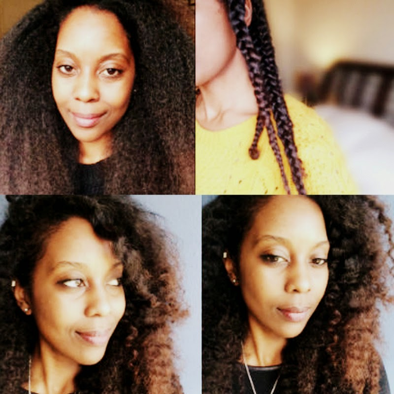 Braid-Out on Blown-Out Natural Hair! #DateNight ...