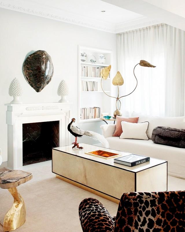 Decor inspiration un appartamento elegante chic a - Madrid chic style ...