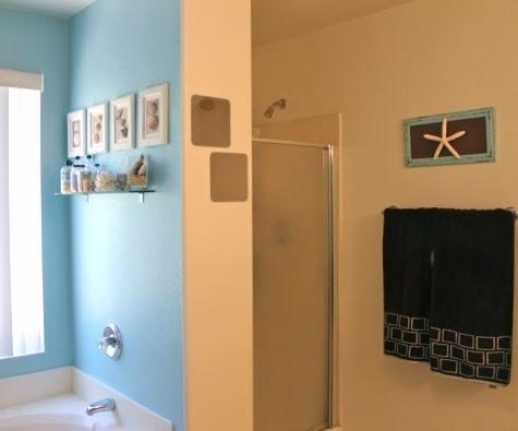 coastal bathroom art