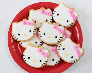 Galletas decoradas Hello Kitty