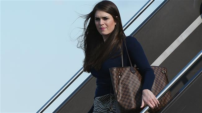 Hope Hicks replaces Anthony Scaramucci as interim communications director