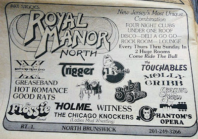 The Royal Manor North band lineup