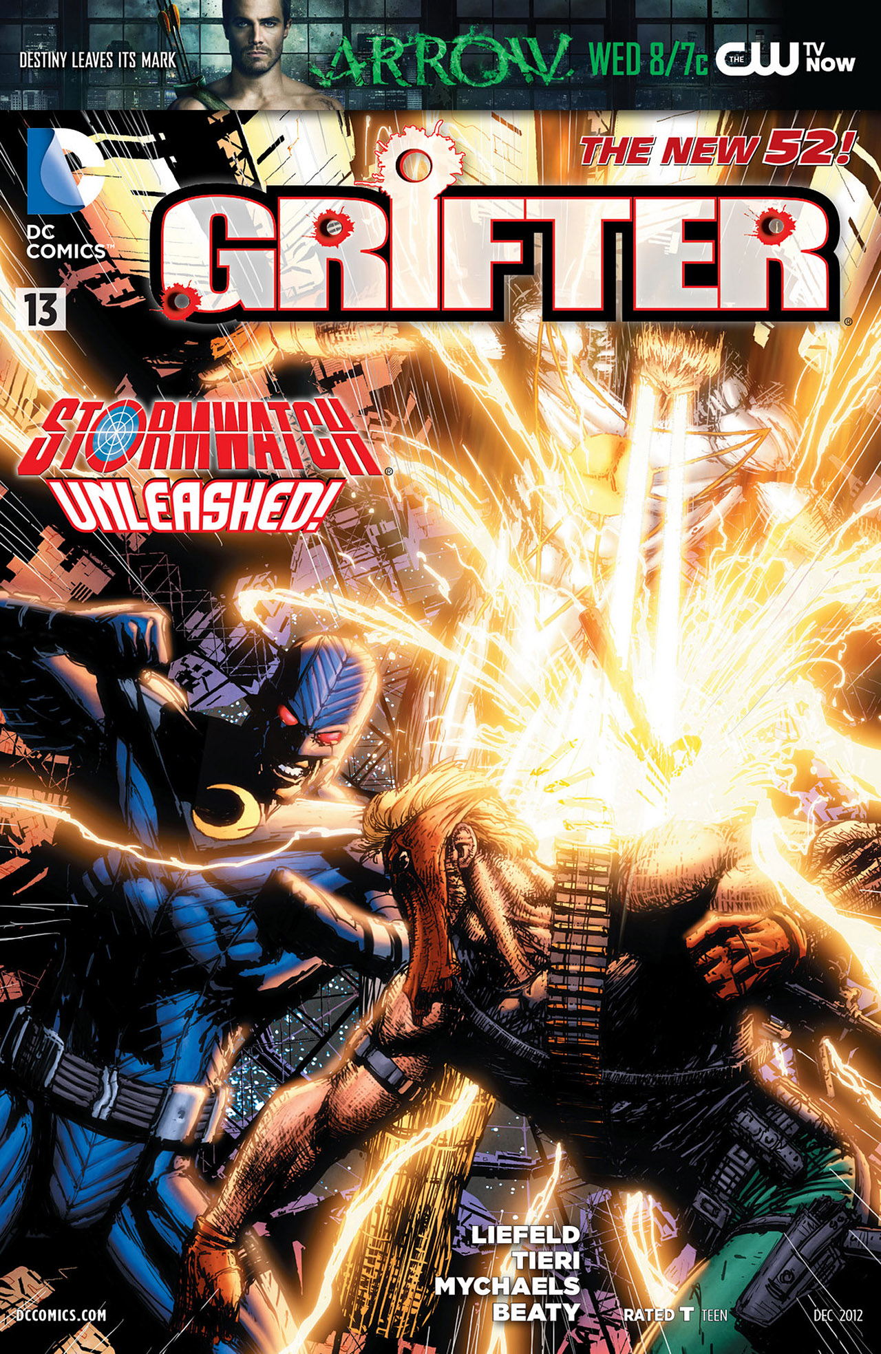 Grifter (2011) issue 13 - Page 1