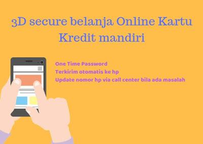 Solusi 3d secure kartu kredit yang tidak muncul