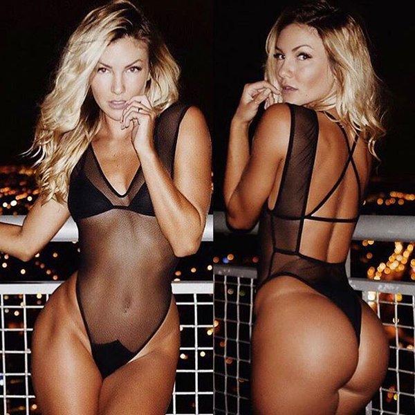 Hot girls Cassandre Davis sexy Ronaldo girlfriend 2