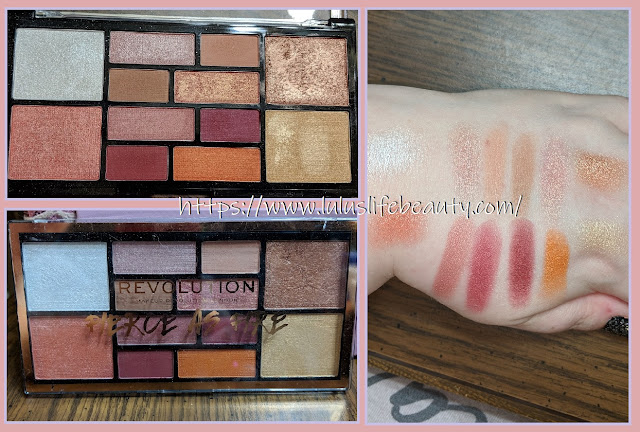 Makeup Revolution; Fierce as Fire Palette
