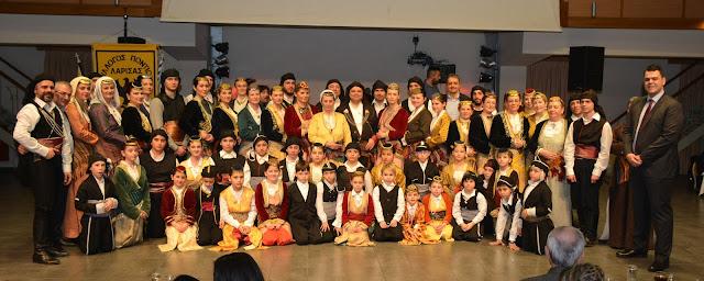 Το γλέντησαν οι Πόντιοι στο χορό που έγινε στη Λάρισα!