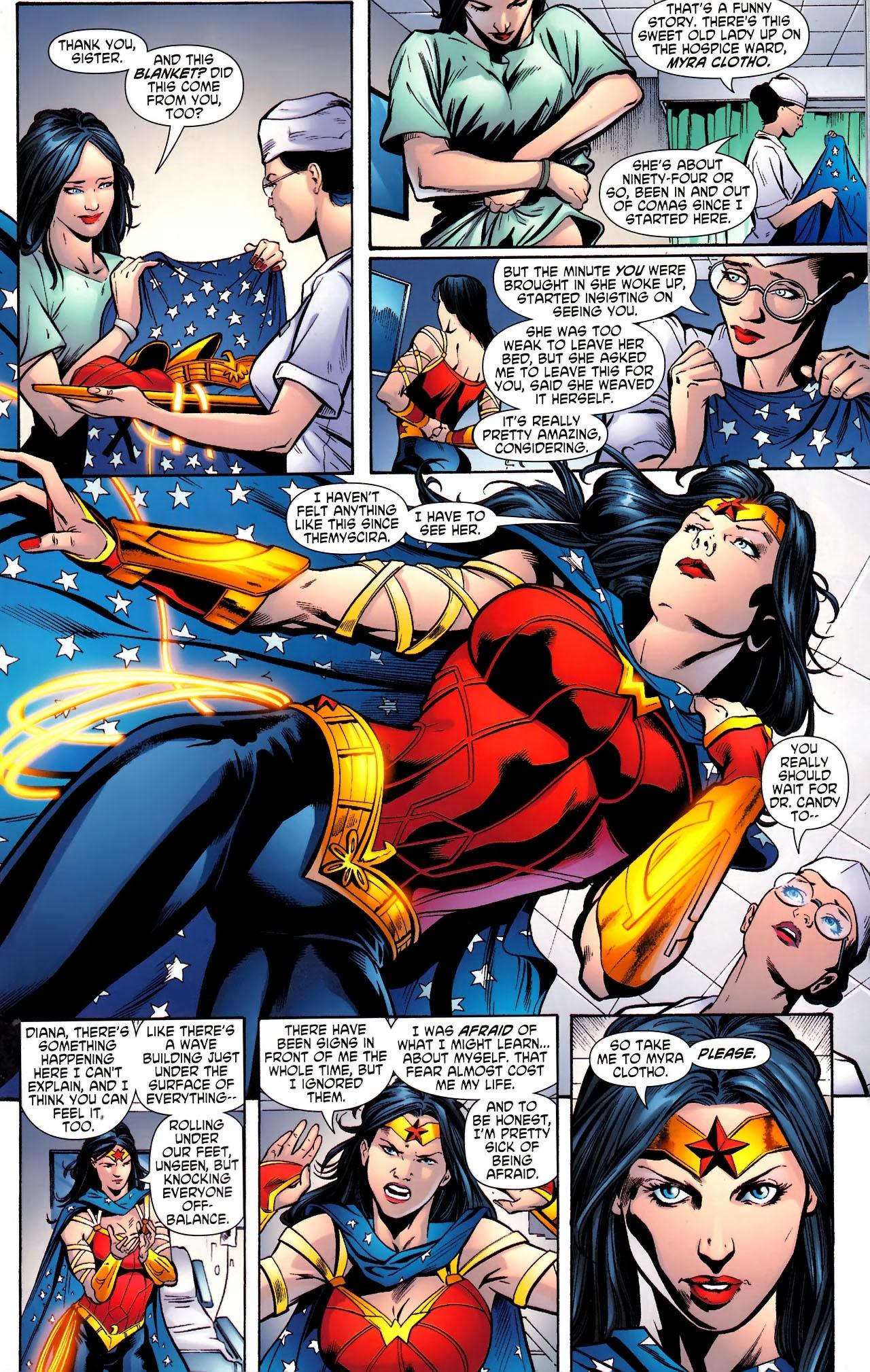 Read online Wonder Woman (2006) comic -  Issue #610 - 7