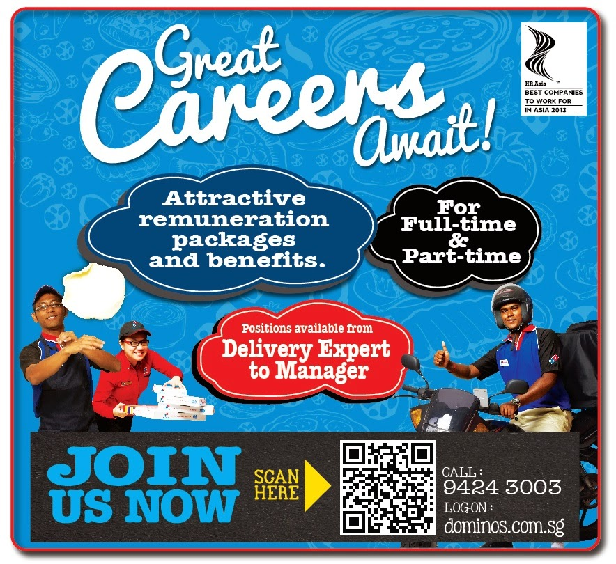Career Opportunities at Dominos Pizza