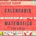 Calendario matemático mes de diciembre tercer ciclo 5º y 6º grado