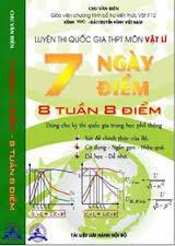 Luyện thi quốc gia THPT môn vật lí 7 ngày 7 điểm Tập 1 - Chu Văn Biên