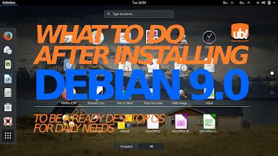 """Qué hacer después de instalar Debian 9 """"Stretch"""""""