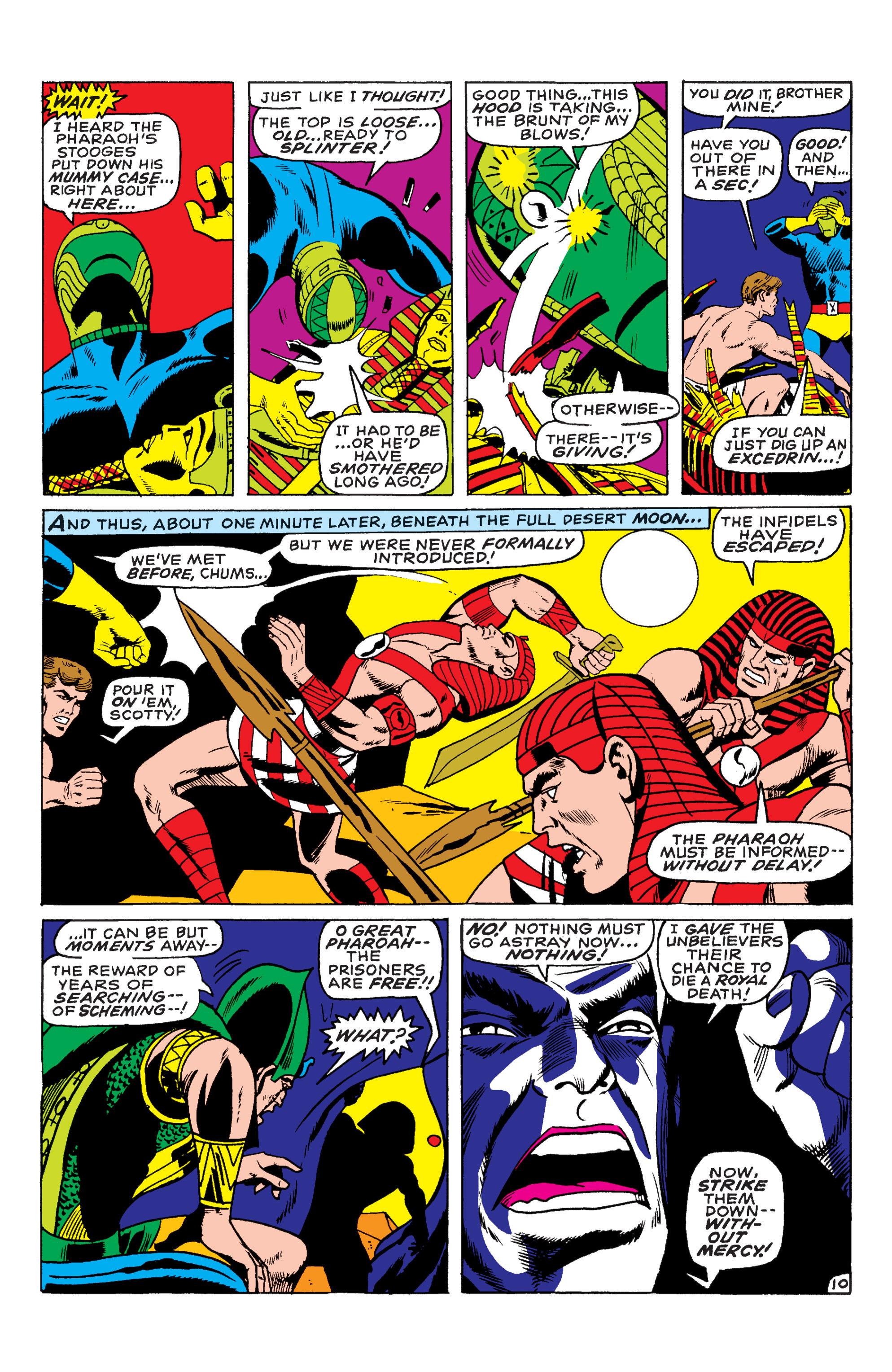 Uncanny X-Men (1963) 55 Page 10
