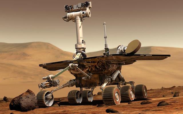 """Opportunity, el robot que estuvo en Marte durante 15 años, está oficialmente """"muerto"""" Marte"""